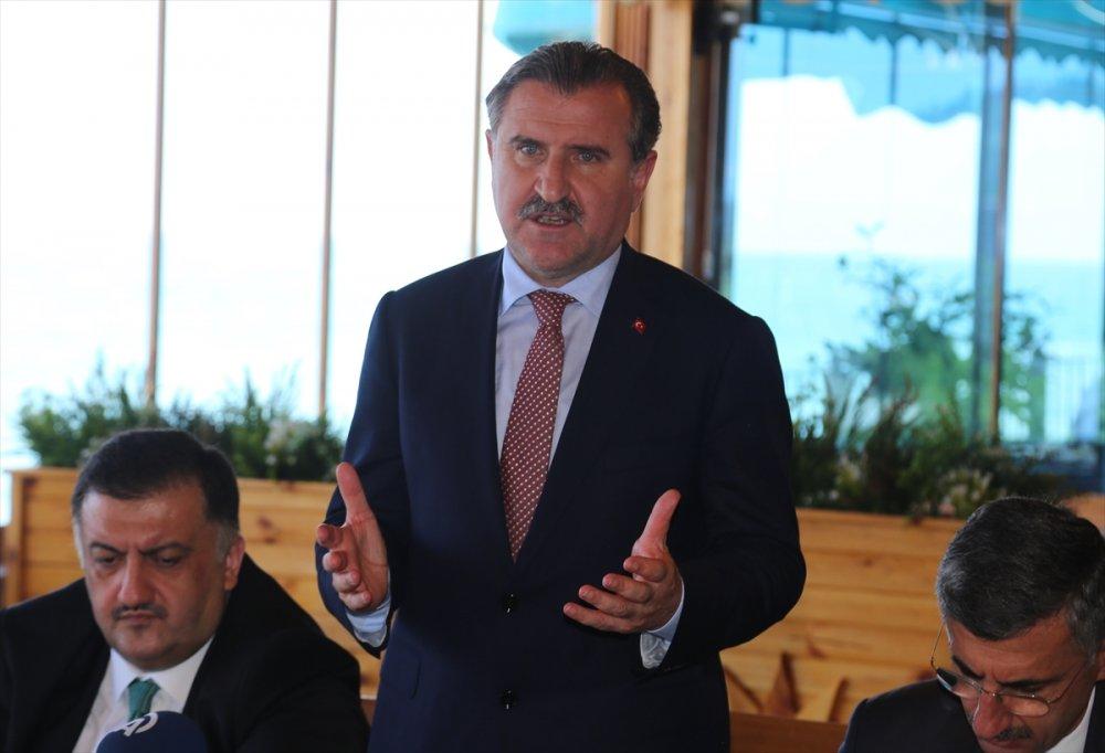Gençlik ve Spor Bakanı Bak'tan Rize'de Fatih Terim açıklaması