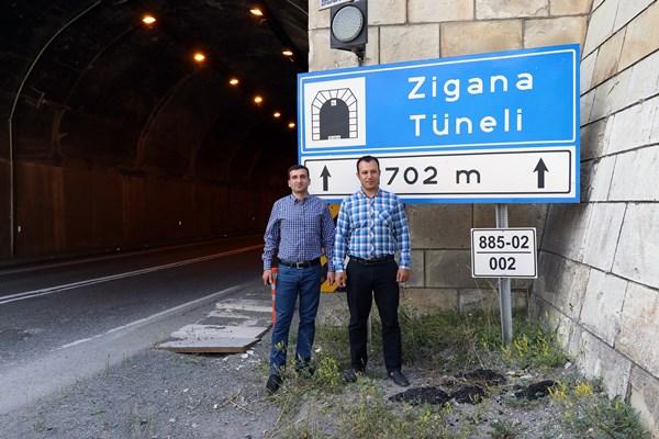 Zigana Tüneli bu özelliği ile dikkat çekiyor