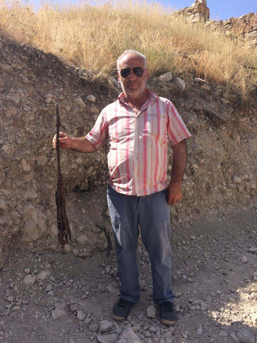 Bayburt'ta yol çalışması sırasında bulundu