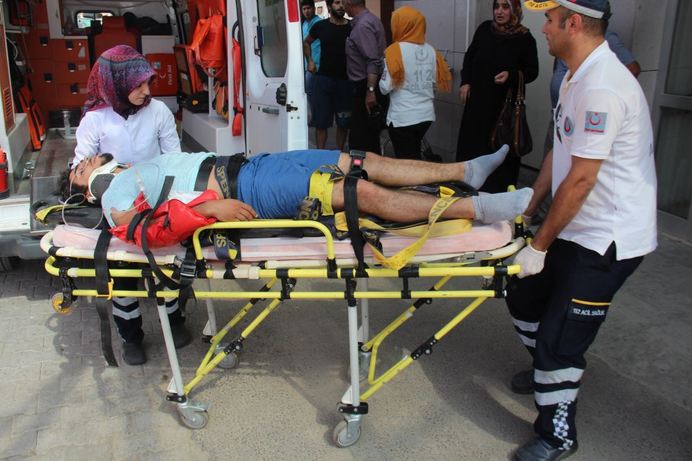 Trafik kazası: 12 yaralı