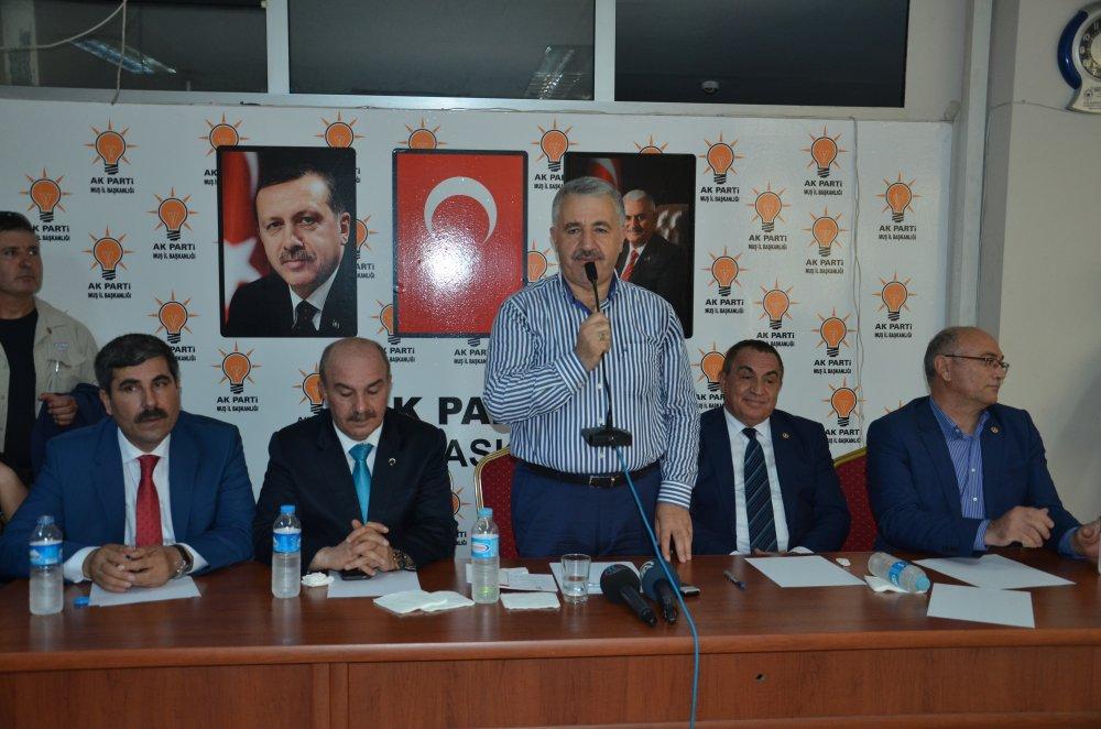 Bakan Arslan Erzincan Trabzon demiryolu için konuştu