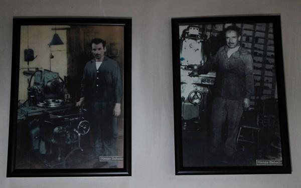 Trabzonlu Usta 87 yaşında, hala torna tezgahı başında