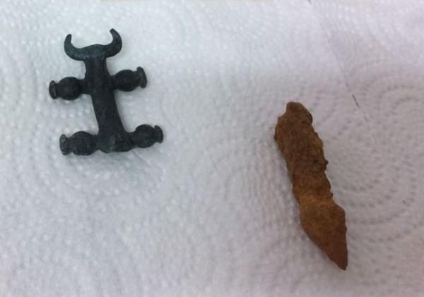 Antik kazıda silah bulundu