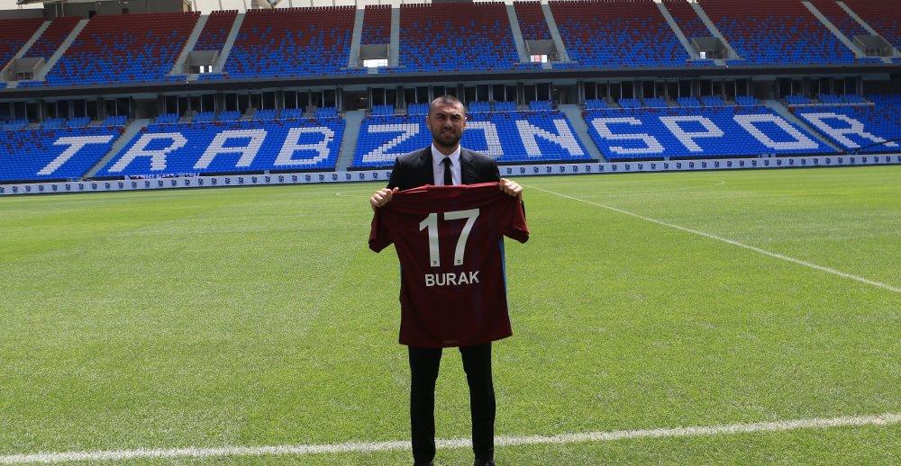 Trabzonspor'da Burak Yılmaz mali dengeleri bozdu...