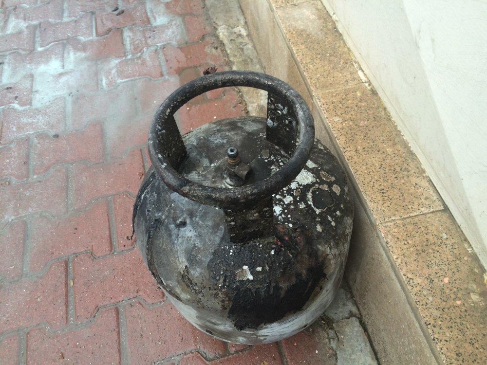 Tüpteki gaz kaçağını çakmakla kontrol edince... Facia!