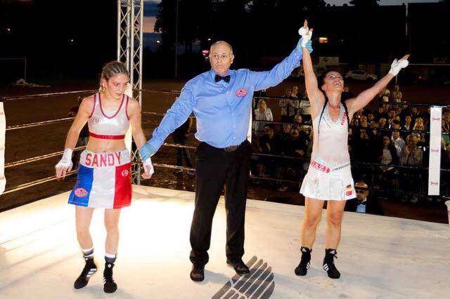 Trabzonlu bayan boksör unvanını korusu