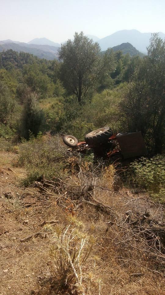 Uçuruma yuvarlandı: 1 ölü, 1 yaralı