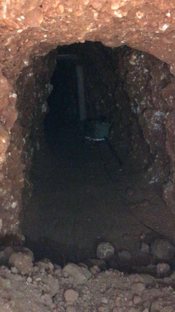 PKK'ya ait 40 metrelik tünel imha edildi