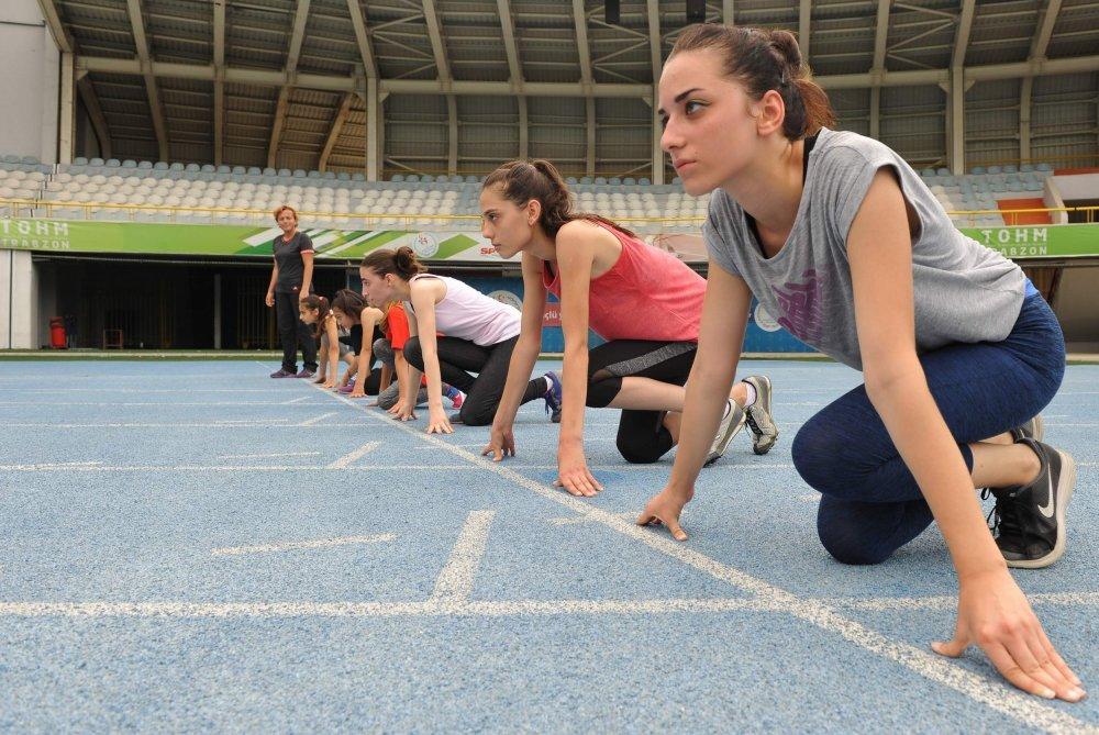 Trabzonlu atletler başarıya sıçradı
