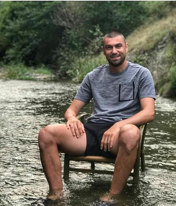 Burak Yılmaz, Trabzon'da özlem gideriyor