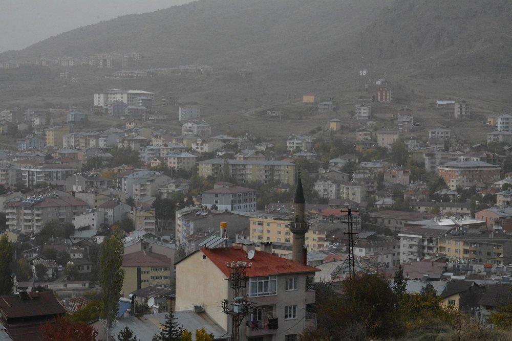Suriye'den gelen toz bulutu Giresun'a ulaştı