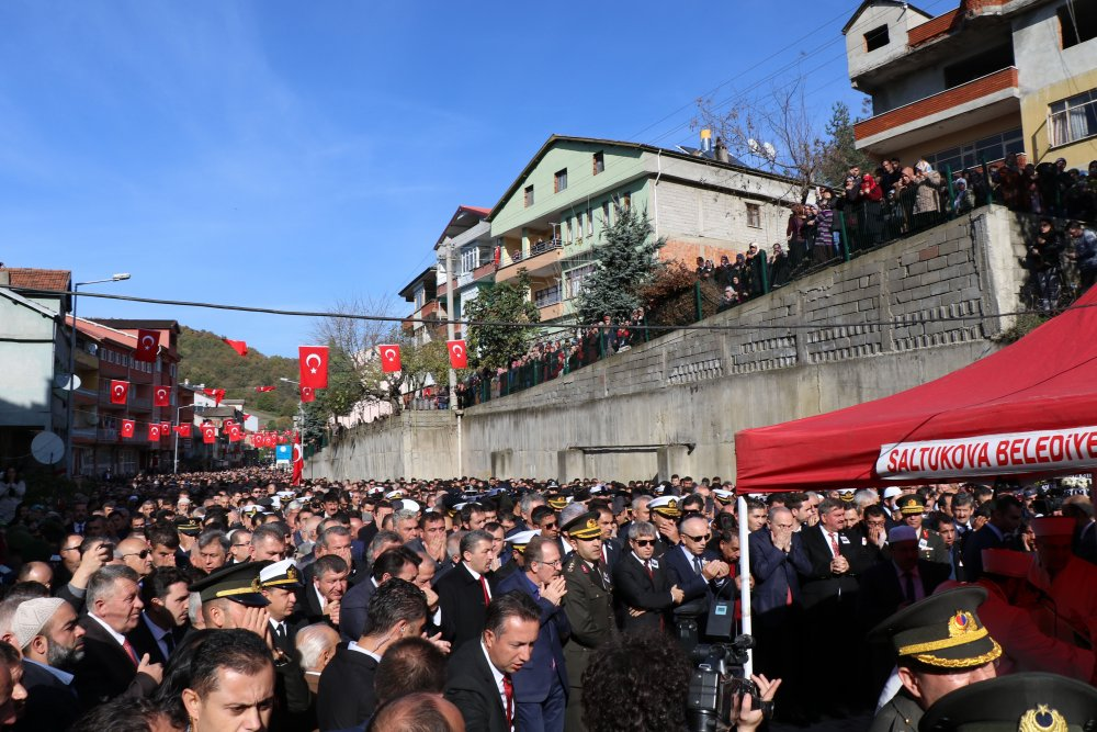 Zonguldak, şehidine ağladı
