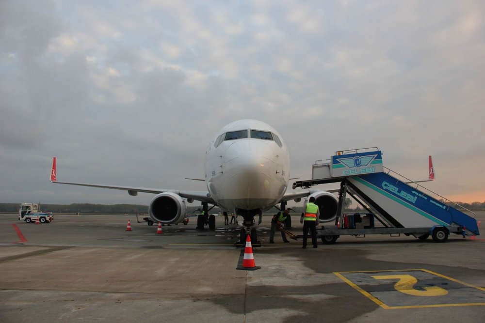 Samsun-Çarşamba Havalimanında seferler başladı