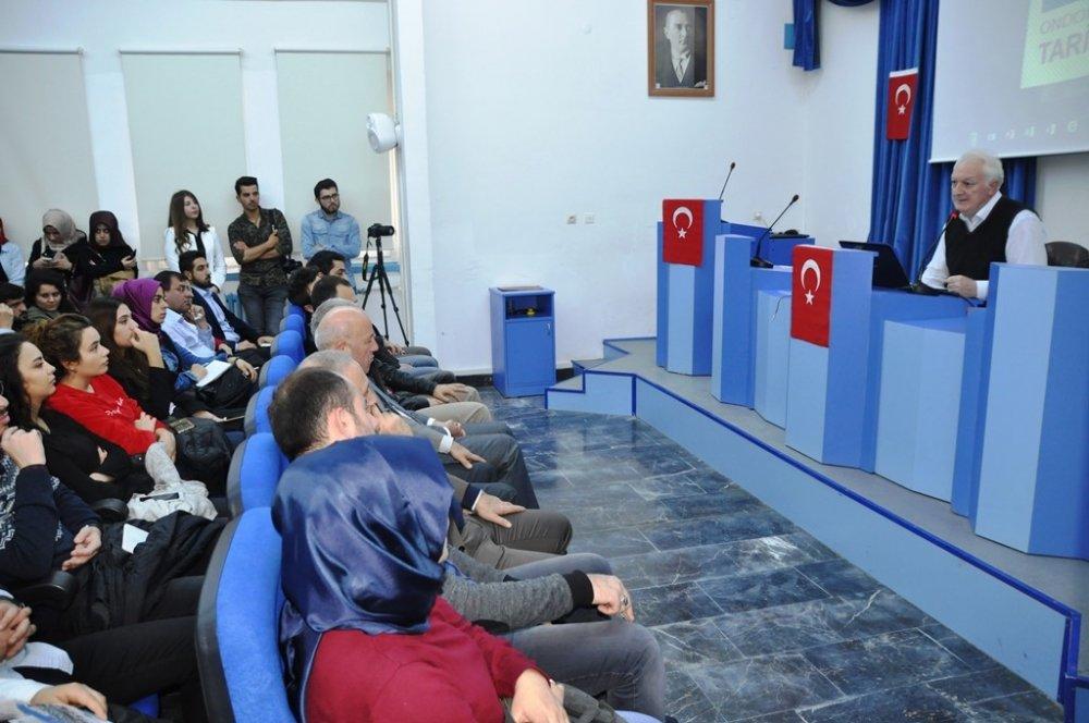 KTÜ'lü Profesör Osmanlı'yı anlattı