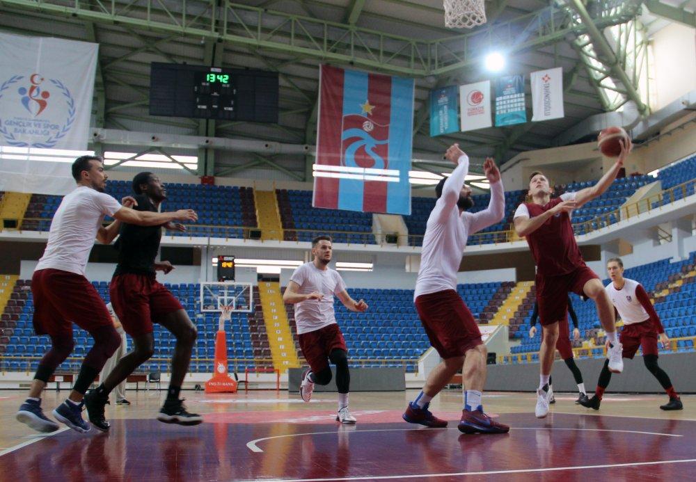 Trabzonspor Basketbolda sıkı çalışma