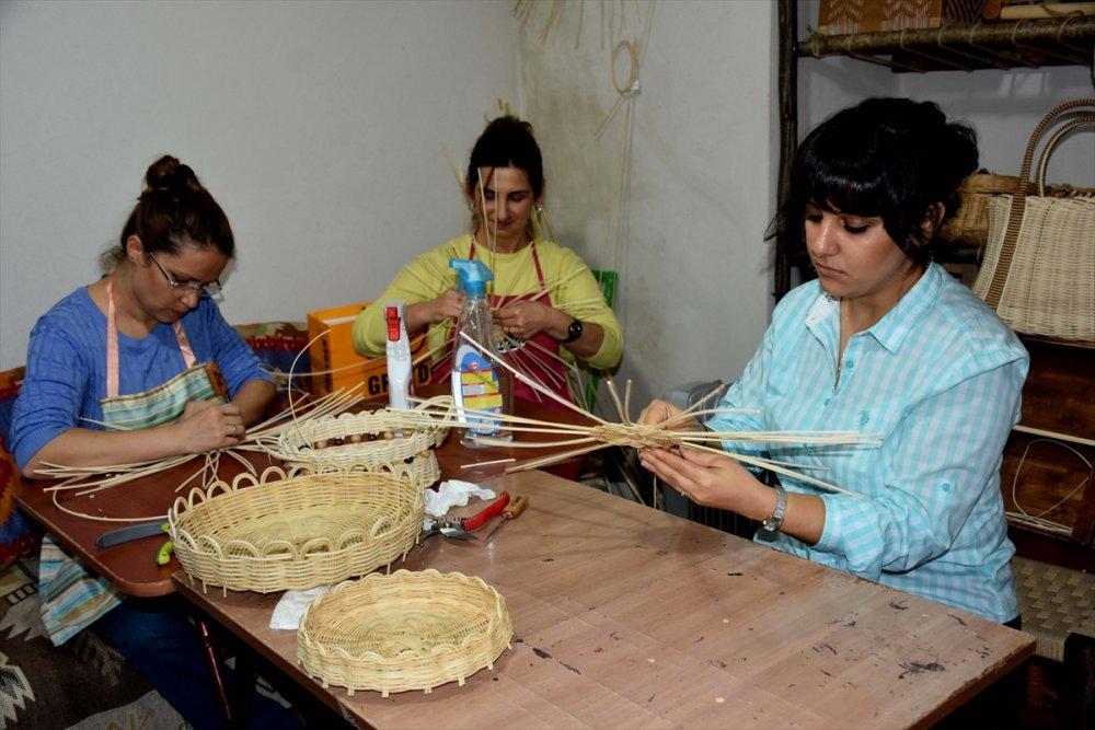 Trabzon'da Bambudan çanta yapıyorlar