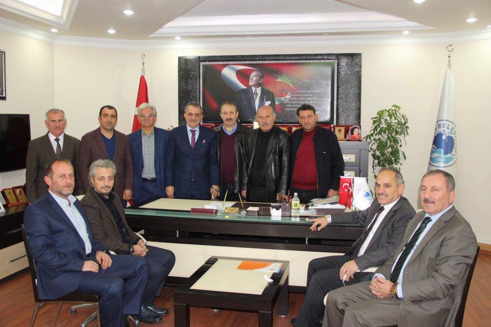Mehmet Geldi'den Başkan Sağıroğlu'na ziyaret