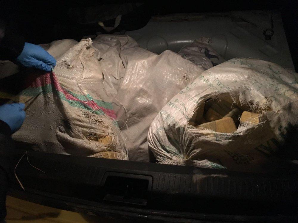 Otomobilden 81,9 kilo eroin çıktı