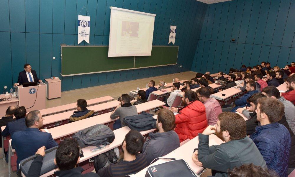 Hacısalihoğlu'ndan genç mühendis adaylarına nasihatler