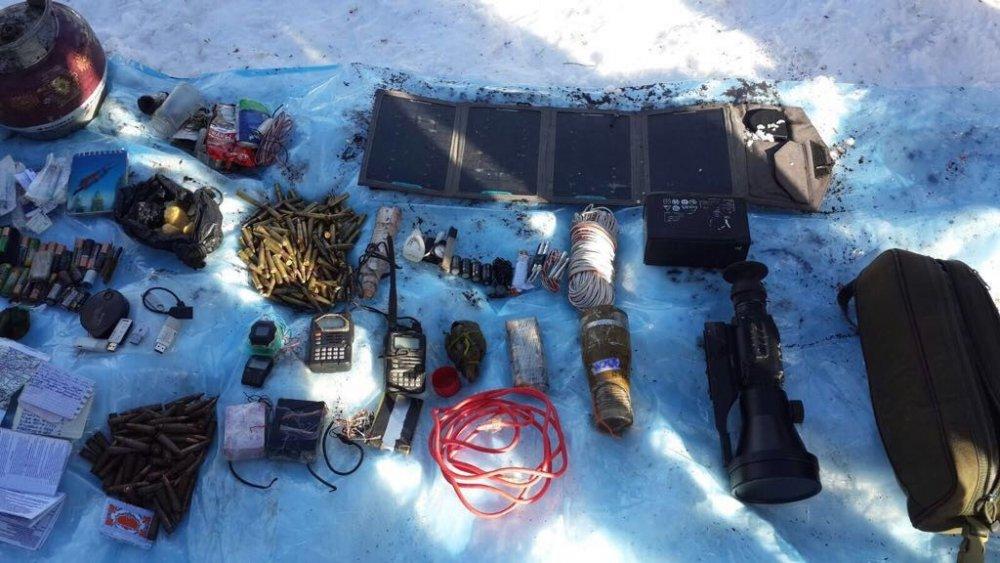 Giresun'da yakalanan terörist yer gösterdi: Mühimmatlar ele geçirildi