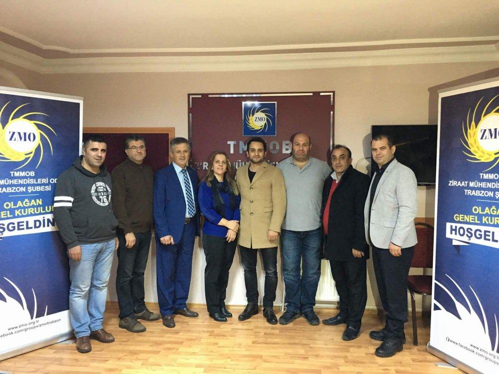 Cemil Pehlevan tekrar Ziraat Mühendisleri Odası Başkanı