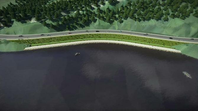 Sera Gölü'nde tepki çeken duvar yıkıldı, yeni çalışmalar başladı