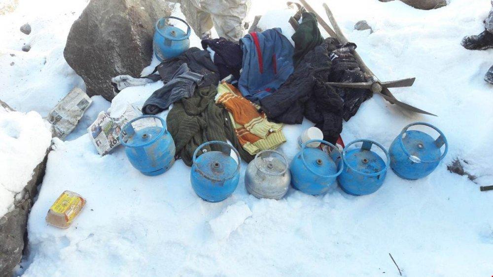 PKK'nın kış sığınak ve barınaklarına operasyon