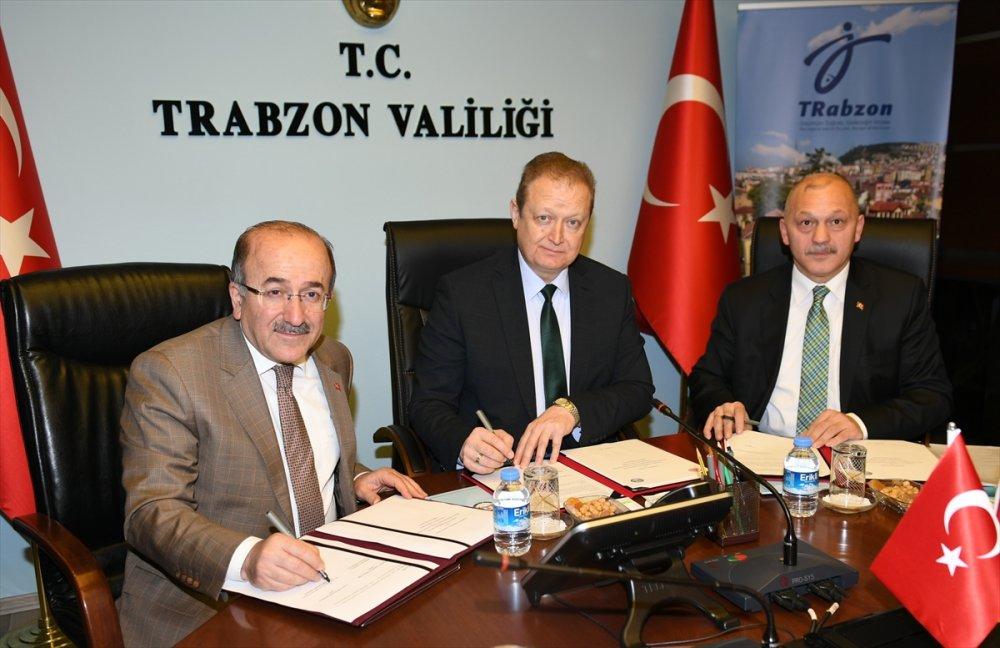 Trabzon'da imzalar atıldı: İş birliği yapılacak