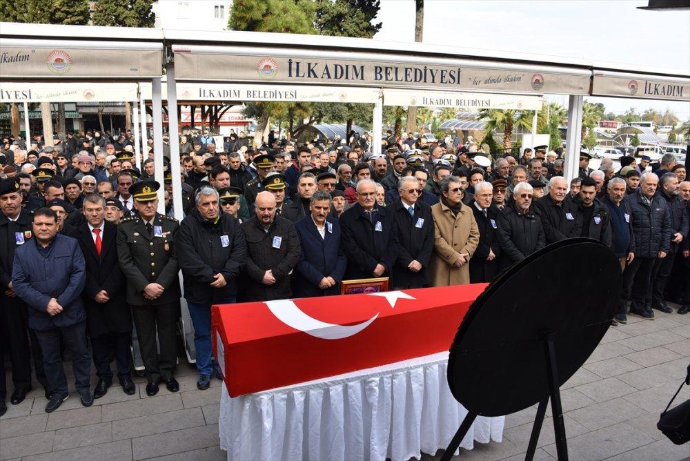 Kore gazisi Erzincan'da son yolculuğuna uğurlandı