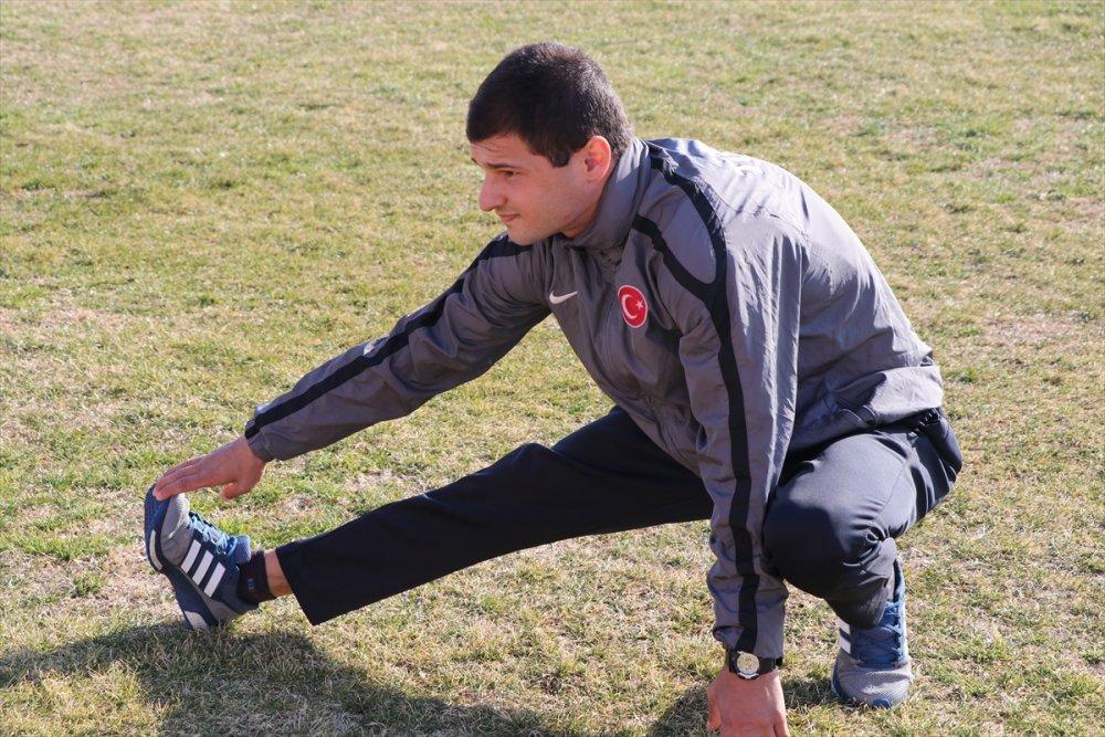 Trabzon'da Özel sporcunun azmi