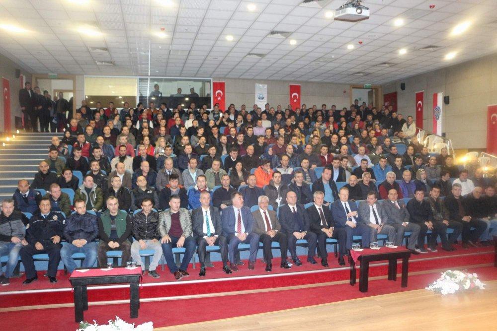 Özel Güvenlik Görevlilerine Trabzon'da eğitim