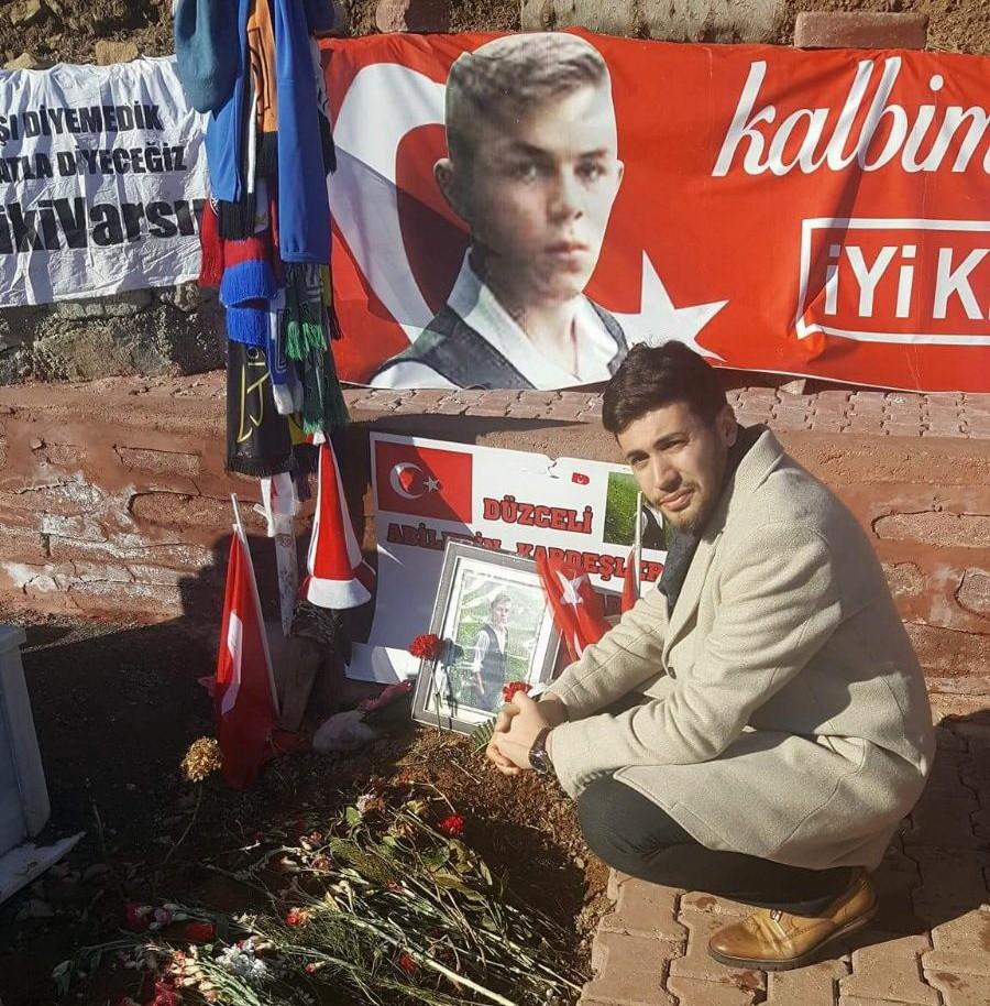 Koca yürekli minikler şehit Eren Bülbül'ün ailesini unutmadı