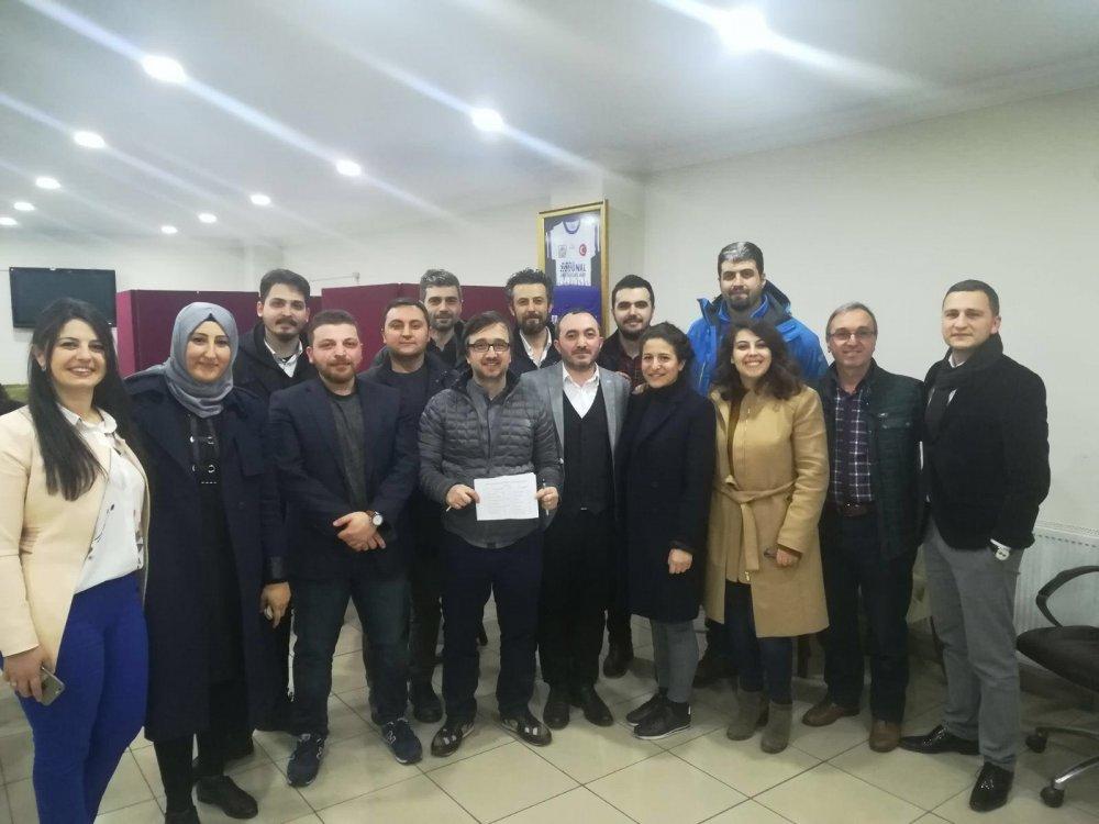 Trabzon'da Peyzaj Mimarları Odası'nda kongre