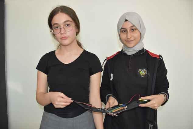 Trabzon'da lise öğrencilerinden araçlar için önemli buluş