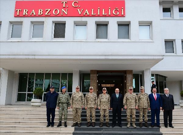 Jandarma Genel Komutanı Orgeneral Çetin Trabzon'da