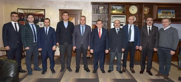 Trabzon Trabzon Üniversitesi UZEM'den TTSO'ya ziyaret