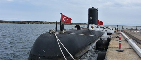 TCG Anafartalar Denizaltısı Trabzon'da!