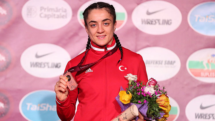 Yasemin Adar Avrupa şampiyonu
