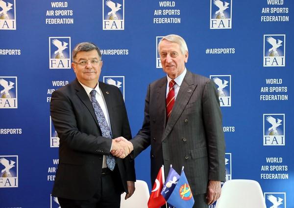 Büyük başarı! 2020 Hava Olimpiyatları Türkiye'de