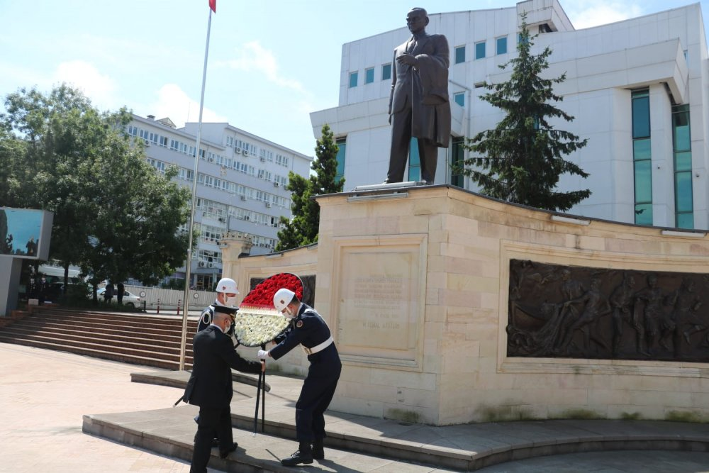 Jandarma Teşkilatının 181. kuruluş yıl dönümü Trabzon'da kutlandı