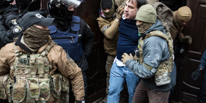 Devrik lider Saakaşvili intihar etmek istedi!