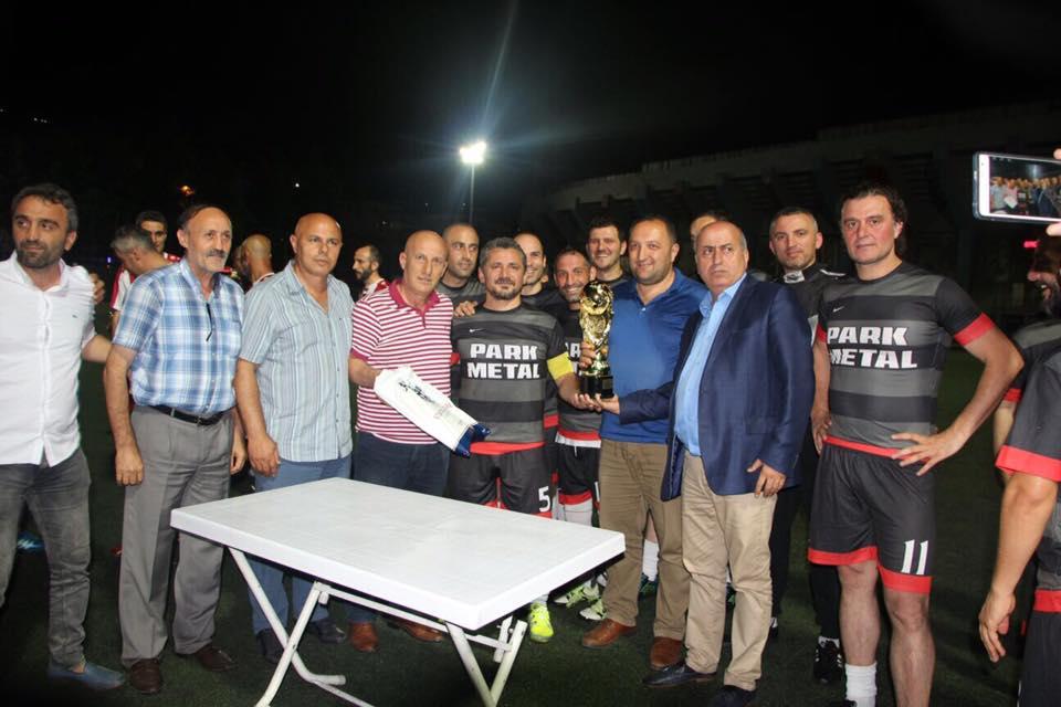 Trabzon'da Veteranlar Turnuvası sona erdi