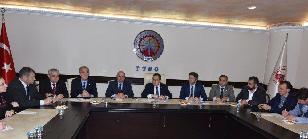 Turizm sektörü temsilcileri TTSO'da buluştu