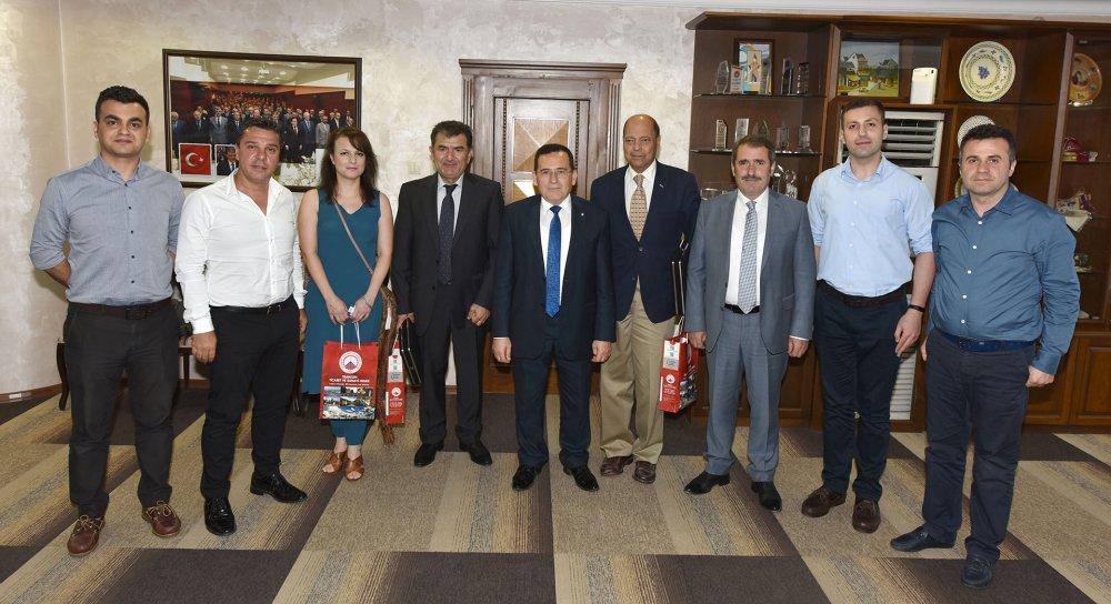 Yunanistan Drama heyetinde TTSO'ya işbirliği ziyareti
