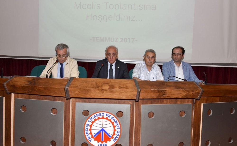TTSO Temmuz ayı meclis toplantısı yapıldı