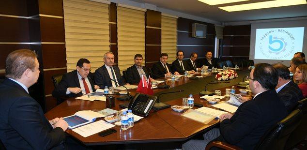 Vakfıkebir ve Beşikdüzü OSB toplantıları yapıldı