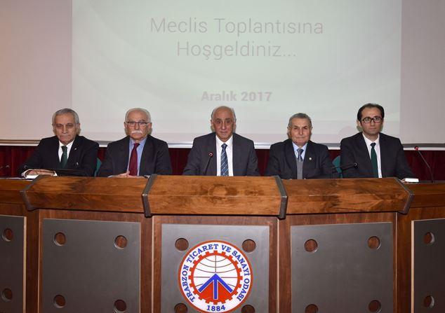TTSO'nun 2018 bütçesi kabul edildi