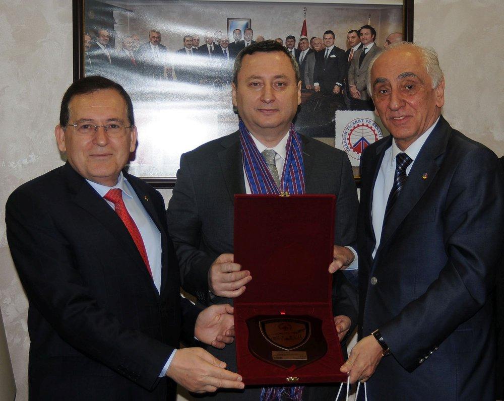 Trabzon'da Başkan Yaman TTSO'yu ziyaret etti