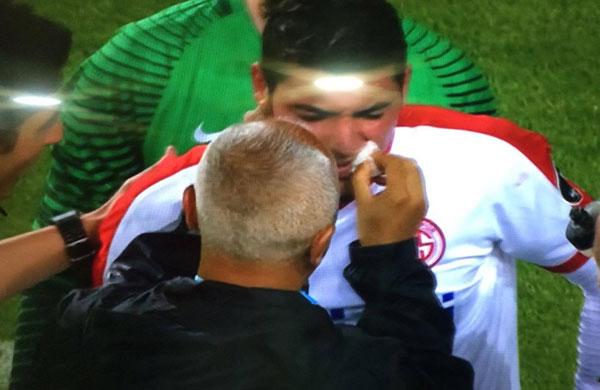 Antalyaspor Trabzonspor maçında korkutan pozisyon