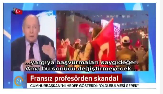 Erdoğan öldürülmeli diyen küstah profesör özür diledi! 1